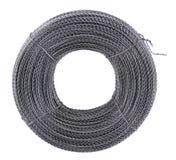 metallisk kabel Fotografering för Bildbyråer
