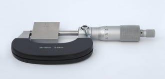 Metallisk mikrometer Arkivfoton
