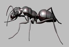 metallisk myra stock illustrationer