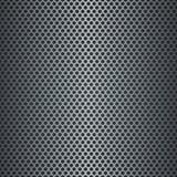 Metallisk rasterbakgrund för silver Royaltyfri Bild
