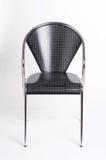 metallisk stol Arkivbild