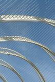 metallisk struktur Fotografering för Bildbyråer
