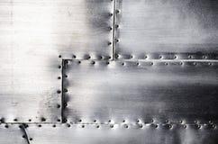 metallisk textur Arkivfoton