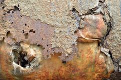 Metallisk texturmodell Fotografering för Bildbyråer