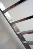 Metallisk trappa/stege Royaltyfria Foton