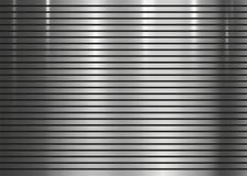 Metallisk vägg för band för texturabstrakt begreppbakgrund royaltyfri illustrationer