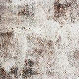 Metallisk vägg för rost med vit emalj Royaltyfria Bilder