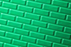 metallisk vägg för tegelstenar Arkivfoton