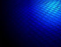 metallisk yttersida för abstrakt blå konstruktion Arkivbilder
