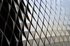 metalliska former för bakgrundsdiamant Royaltyfria Foton