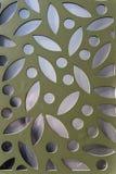 Metalliska geometriska ytbehandlar Fotografering för Bildbyråer