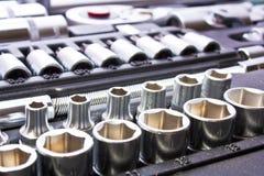 metalliska hjälpmedel Royaltyfri Foto