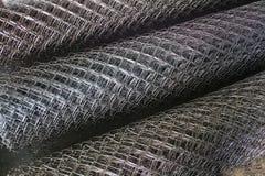 metalliska netto rullar Arkivfoton