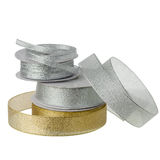 Metalliska Ribbonn Royaltyfri Foto