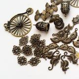 Metalliska smycken särar II Royaltyfri Fotografi