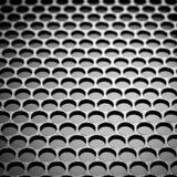 metalliskt abstrakt raster Arkivfoto