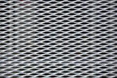 metalliskt bakgrundsraster Royaltyfri Fotografi