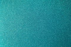 Metalliskt blänka pappers- backgrond för gräsplan-blått akvamarininpackning, närbild Kopiera utrymme för text Horisontal och vert vektor illustrationer