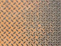 metalliskt gammalt rostigt för bakgrund Fotografering för Bildbyråer