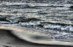 metalliskt hav royaltyfria foton