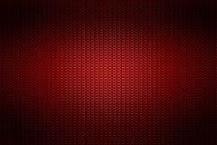Metalliskt ingrepp för röd krom metallbakgrund och textur royaltyfri illustrationer