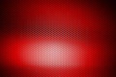 Metalliskt ingrepp för röd krom metallbakgrund och textur Arkivbilder