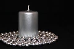 Metalliskt julljus Royaltyfri Bild