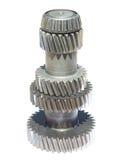 metalliskt kugghjul Fotografering för Bildbyråer