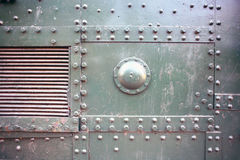 Metalliskt pansar arkivbilder