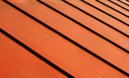 metalliskt tak Royaltyfri Foto