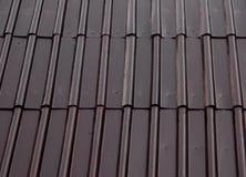 metalliskt tak Bakgrund Arkivfoton