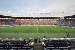 Metallist-Stadion lizenzfreies stockfoto