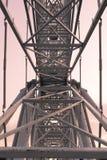 Metallkonstruktionsram Arkivfoton