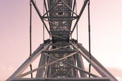 Metallkonstruktionsram Arkivfoto