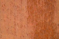Metallkorrosion Orange leichte Struktur der Oxidation auf Schweißnaht lizenzfreie stockfotografie