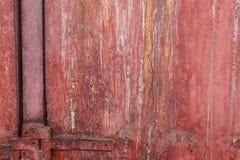 Metallkorrosion - rosttexturbakgrund Arkivbild