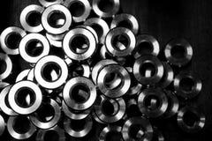 Metallkreis in Form Stockfotografie