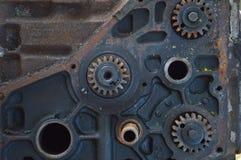 Metallkugghjul Arkivfoton