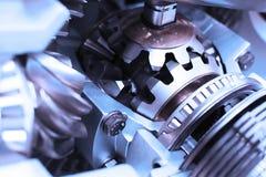 Metallkugghjul Arkivbild