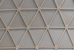 Metallkupol i den moderna byggnaden Fotografering för Bildbyråer