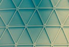 Metallkupol i den moderna byggnaden Royaltyfria Bilder