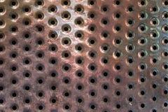 Metalllöcher Lizenzfreie Stockbilder