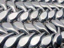 Metalllöffel Lizenzfreies Stockbild