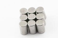 Metalllagerrollen stockfotografie