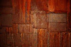 metalllappar rostade Royaltyfri Fotografi