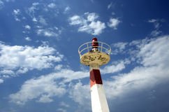 Metallleuchtturm Lizenzfreie Stockfotos