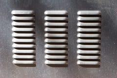 metalllufthål Fotografering för Bildbyråer