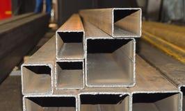 Metallmellanrum i företaget Royaltyfri Bild