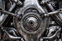 metallmotor av roboten Fotografering för Bildbyråer