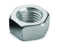 Metallmutter royaltyfria foton